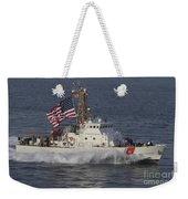 He U.s. Coast Guard Cutter Adak Weekender Tote Bag
