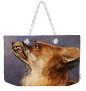 Head Of A Fox Weekender Tote Bag