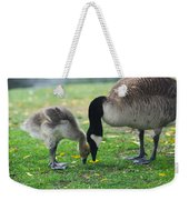 Head To Head Weekender Tote Bag