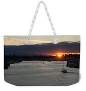 Heading Out Of Town Weekender Tote Bag