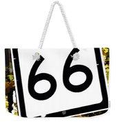 Heading West On Route 66 Weekender Tote Bag