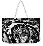 Headlights In The Woods Weekender Tote Bag