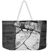 Headstone Of Lafayette Meeks Weekender Tote Bag by Teresa Mucha