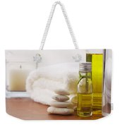 Health Spa Weekender Tote Bag