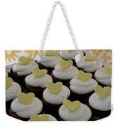 Heart Cupcakes Weekender Tote Bag