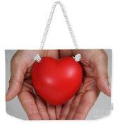 Heart Disease Prevention Weekender Tote Bag