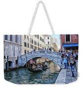 Heart In Venice Weekender Tote Bag