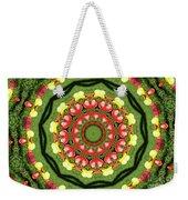 Heart Kaleidoscope Weekender Tote Bag