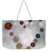 Heart Of Buttons Weekender Tote Bag