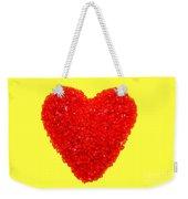 Heart Of Glass Weekender Tote Bag