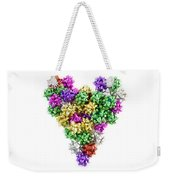 Heart Shaped Christmas Bows  Weekender Tote Bag
