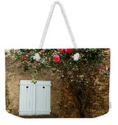 Heart Shutters And Red Roses Weekender Tote Bag