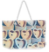 Hearts A Plenty Weekender Tote Bag