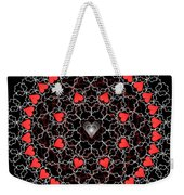 Hearts And Lace 2012 Weekender Tote Bag