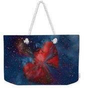 Hearts In Space Weekender Tote Bag