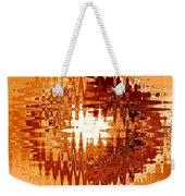 Heat Wave - Abstract Art Weekender Tote Bag