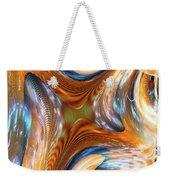 Heatwave Abstract Weekender Tote Bag