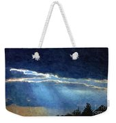 Heaven Opening To Let Out The Sun Painterly Style Weekender Tote Bag