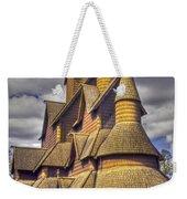Heddal Stave Church  Weekender Tote Bag