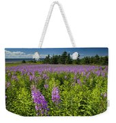 Hedge Woundwort Flower Blossoms And Field Weekender Tote Bag