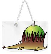 Hedgehog With Apple Weekender Tote Bag