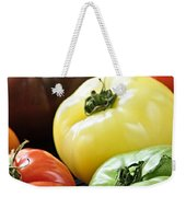 Heirloom Tomatoes Weekender Tote Bag