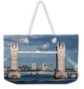 Helicopters And Tower Bridge Weekender Tote Bag