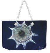 Heliodiscus Sp. Radiolarian Lm Weekender Tote Bag