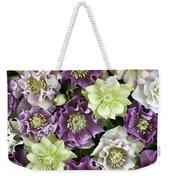 Hellebore Helleborus Sp Flowers Weekender Tote Bag
