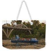 Hellgate Jet Boat And Caveman Bridge Weekender Tote Bag