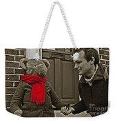 Hello Mr Bear Weekender Tote Bag