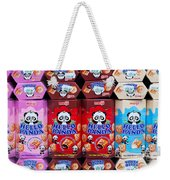 Hello Panda Biscuits Weekender Tote Bag