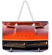 Hemi Orange 1971 Dodge Challenger Weekender Tote Bag
