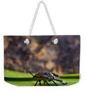 Hemiptera Nymph Walikng 1 Weekender Tote Bag