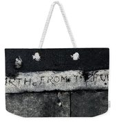 Hence Forth From The Full Moon Weekender Tote Bag