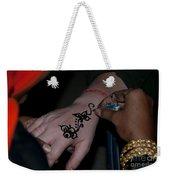Henna Hand Weekender Tote Bag