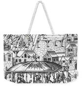 Henry Iv Of France Weekender Tote Bag