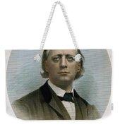 Henry Ward Beecher (1813-1887). American Clergyman. At Age 50: Steel Engraving, 19th Century Weekender Tote Bag