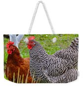Hens Weekender Tote Bag