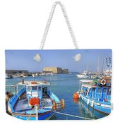 Heraklion - Venetian Fortress - Crete Weekender Tote Bag