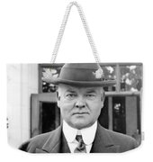 Herbert Hoover - President Of The United States Of America - C 1924 Weekender Tote Bag