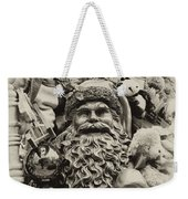 Here Comes Santa Claus Weekender Tote Bag by Bill Cannon