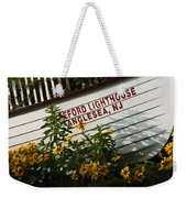 Hereford Lighthouse Lifeboat Weekender Tote Bag