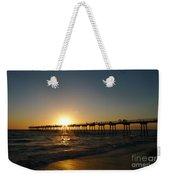 Hermosa Beach Sunset Weekender Tote Bag