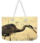 Heron Fishing Weekender Tote Bag