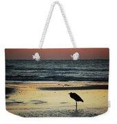Heron Waiting For The Sunrise Weekender Tote Bag