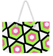 Hexagon Weekender Tote Bag by Louisa Knight