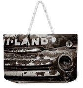 Hi-land  -bw Weekender Tote Bag by Christopher Holmes