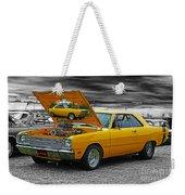 Hi-powered Dodge Abstract Weekender Tote Bag