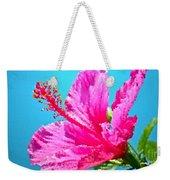 Hibiscus Crystal Luster Weekender Tote Bag